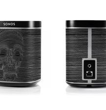 A Pair of Custom Designed John Varvatos Sonos PLAY: 1 Wireless Hifi Speaker Stereos