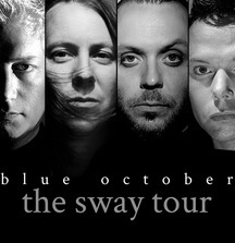 Meet Blue October & Receive 4 Tickets to the Headline Concert of Your Choice Including Soundcheck Party Passes
