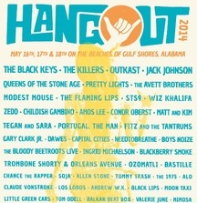 Two VIP Tix for Hangout Festival May 16-18 in Gulf Shores, AL Plus Poster Signed by The Black Keys, Pretty Lights, Jack Johnson and More