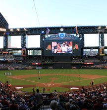 Luxury Suite for 18 People at a 2014 Arizona Diamondbacks Home Game Plus a Signed Baseball from Paul Goldschmidt