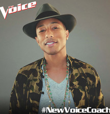 Take a Picture with Pharrell When You Meet the Superstar at an Upcoming Taping of The Voice in LA