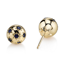 Look Stunning in Sarah Hendler Starburst Ball Earrings