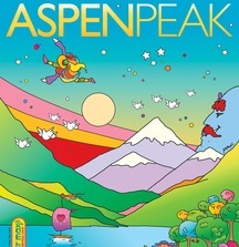Aspen Peak One-of-a-Kind Peter Max Magazine Cover
