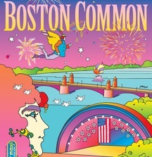 Boston Common One-of-a-Kind Peter Max Magazine Cover