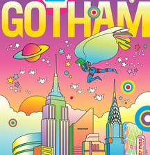 Gotham Peter Max Magazine Cover