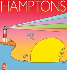 Hamptons One-of-a-Kind Peter Max Magazine Cover