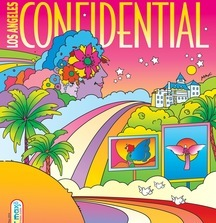 Los Angeles Confidential One-of-a-Kind Peter Max Magazine Cover