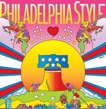 Philadelphia Style One-of-a-Kind Peter Max Magazine Cover