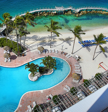 Receive a 3 Night All-Inclusive Stay for 2 in a Waterview Room at Paradise Island Harbour Resort in Nassau, Bahamas