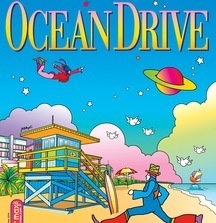 Ocean Drive One-of-a-Kind Peter Max Magazine Cover