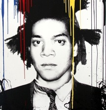 LIVE BID! Jean-Michel Basquiat, 2014 Silkscreen On Acrylic Paper By Mr. Brainwash