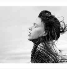 James Macari Photograph Titled Paz in Wind
