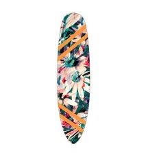 LIVE BID! One-of-a-Kind Nicole Miller Paddle Board Designed and Signed by Nicole Miller