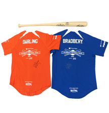 Jerseys & Bat Signed by Sarah Darling & Danielle Bradbery