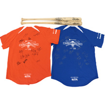 Jerseys & Bats Signed by Team Opry & Team iHeart Radio