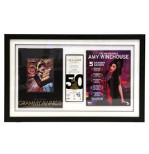 Take Home a Framed GRAMMY Ticket Signed by Amy Winehouse in 2008
