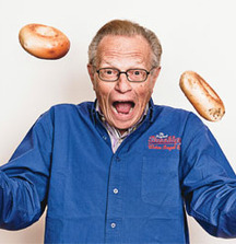 Have Breakfast with Larry King at Brooklyn Water Bagels in Beverly Hills