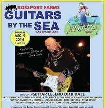 Meet Dick Dale & Spend the Weekend at the Guitars by the Sea Music Festival August 8-9 in Maine