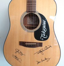 Eagles Signed Takamine G320 Guitar