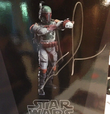 Kotobukiya ARTFX+ Star Wars Boba Fett Collectable 1/10 Model – Return of the Jedi Version Signed by George Lucas