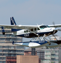 2 Fly The Whale Round Trip Seaplane Tickets from New York to Your Choice of East Hampton, Boston, or DC