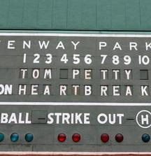 4 Section B6 Turf Seating Tickets to See Tom Petty and The Heartbreakers at Fenway Park on Saturday, August 30, 2014