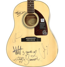 5 Seconds of Summer Signed Epiphone Guitar