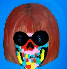 Inseperable_Anna, 2014 Acrylic on Canvas by Bradley Theodore