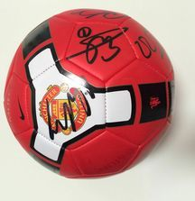 2008-2009 Manchester United Team Signed Ball Including Certificate of Authenticity