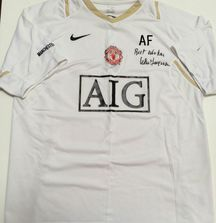 Manchester United 2006-2007 Jersey Signed by Sir Alex Ferguson