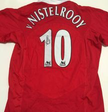 Ruud van Nistelrooy Signed Manchester United Jersey