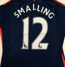 Chris Smalling Worn, Team Signed Manchester United Jersey with Certificate of Authenticity