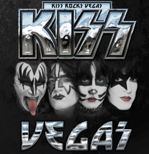 Meet KISS with 2 VIP Passes & More to a November 2014 Concert of Your Choice at The Joint at Hard Rock Hotel & Casino Las Vegas Plus Gene Simmons Signed Guitar & Paul Stanley Signed Guitar