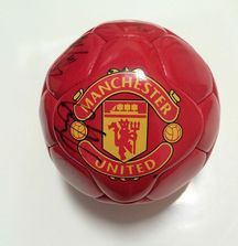 Team Signed 2009-2010 Manchester United Ball with Certificate of Authenticity