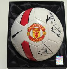 Team Signed 2014-2015 Manchester United Ball with Certificate of Authenticity