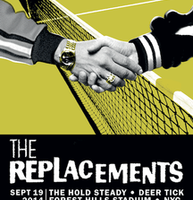 Meet The Replacements With 2 VIP Tickets and After Show Passes to Their Concert, Sept 19, NY