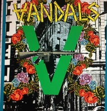 The Vandals; Peace Through Vandalism, Canvas by Miguel Paredes, Signed by The Vandals and Miguel