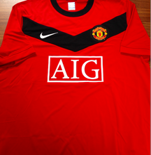 Signed Rio Ferdinand Manchester United Jersey Including Certificate of Authenticity