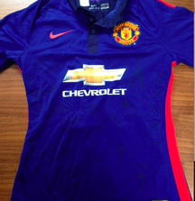 Game Worn Ander Herrera Jersey Signed by entire Manchester United 2014 Team, Including Certificate of Authenticity