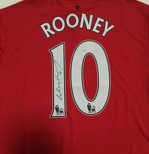 Wayne Rooney Signed 2014-2015 Manchester United Jersey with Certificate of Authenticity