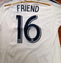 Rob Friend Game Worn Jersey from the 2014 LA Galaxy Summer Tour Including Certificate of Authenticity