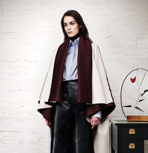Reversible Cashmere Cape from Adam Lippes