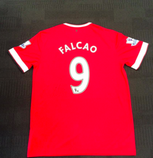 Signed Radamel Falcao Manchester United Jersey from the 2014-2015 Season