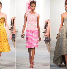 2 Tickets & Backstage Passes to Oscar De La Renta's Spring 2014 New York Fashion Show Held in September 2013