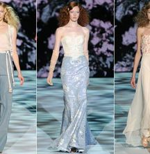 2 Tickets to Badgley Mischka's Spring/Summer 2014 Show in NY During Fall Fashion Week, Plus Your Choice of Couture Gown