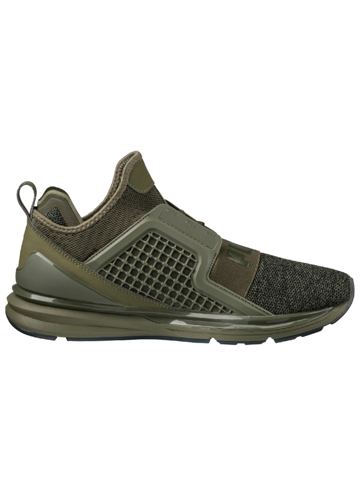 Puma Ignite Limitless Knit Olive P18998703