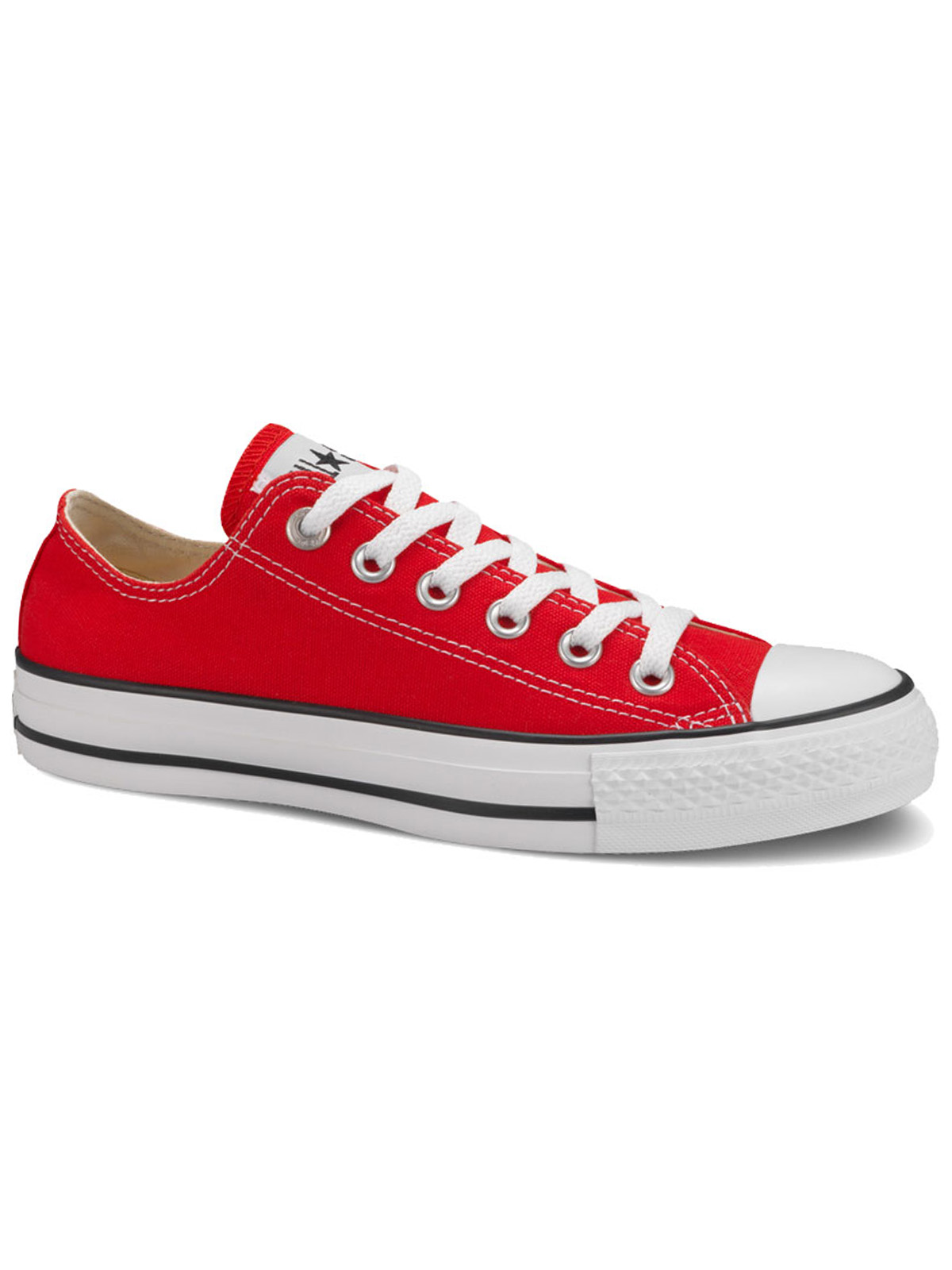 All Star ox canvas red XM9696