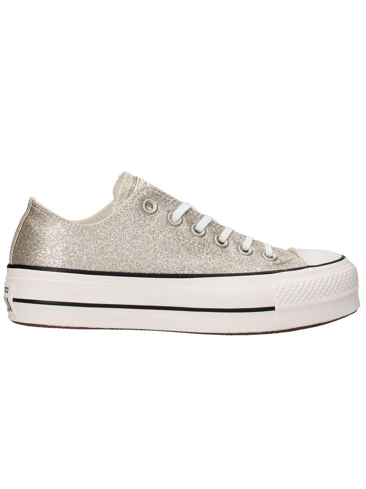 Converse All Star Glitter Lift Gold Ox W Gold Lift 8207de