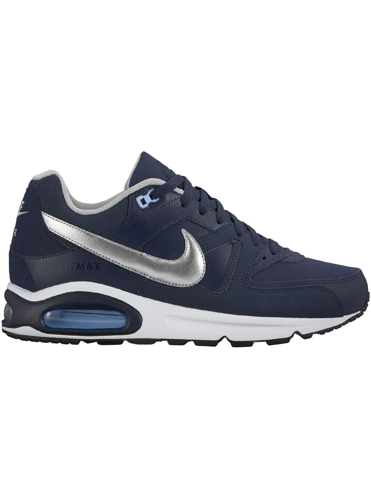 Nike Air Max Command Leather Blu/Silver 749760 401