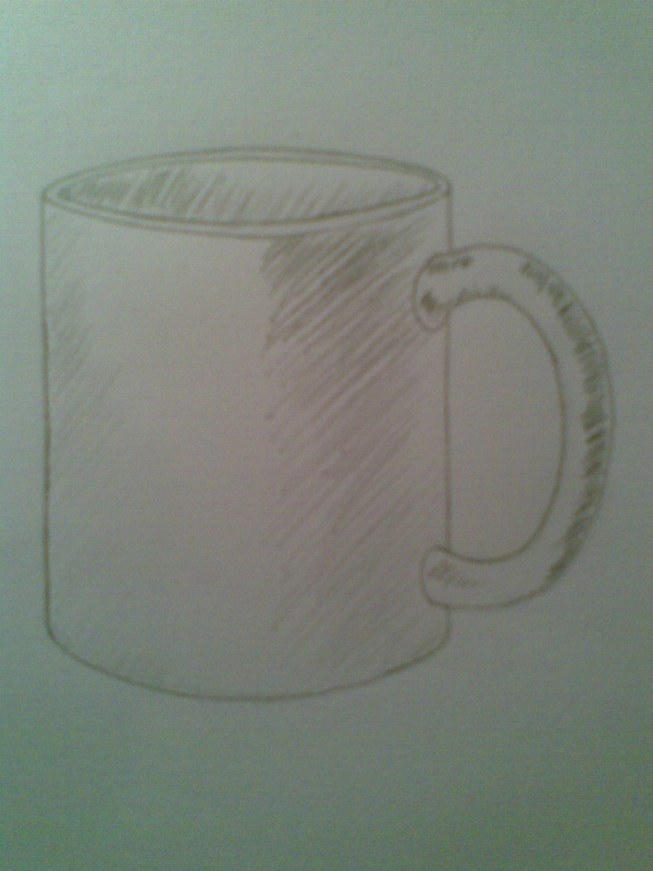 Light on a Mug